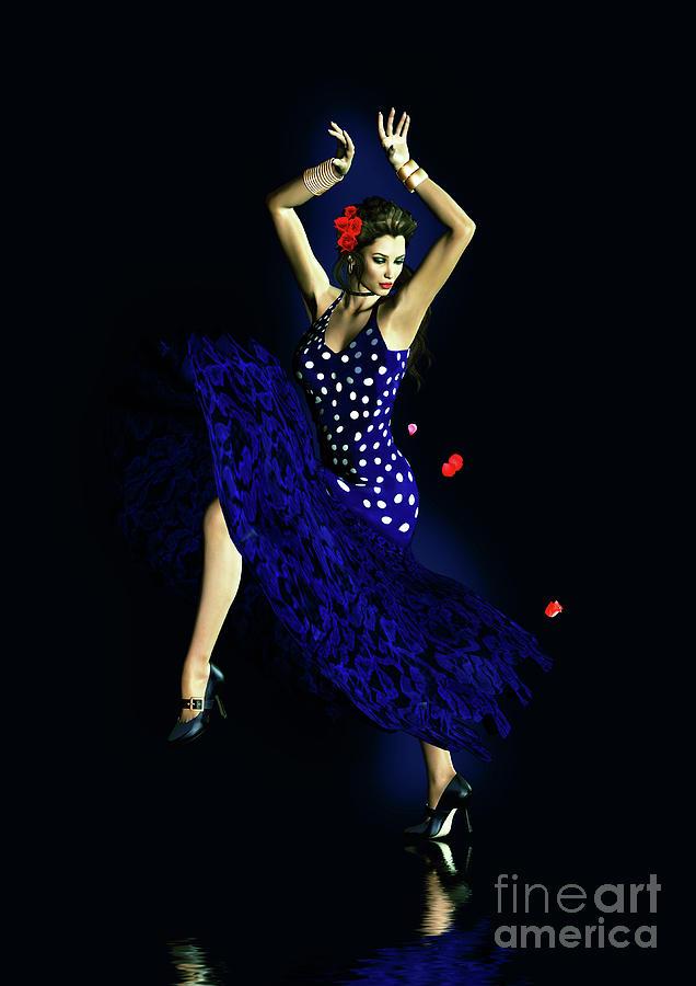 Gypsy Blue Digital Art