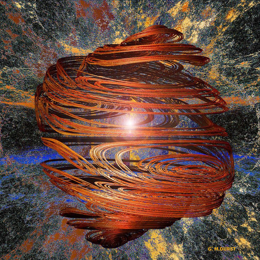 Digital Digital Art - Gyro by Michael Durst