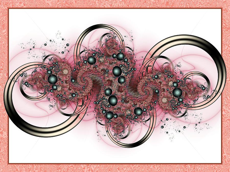 Fractal Digital Art - Hadron Collider by David April