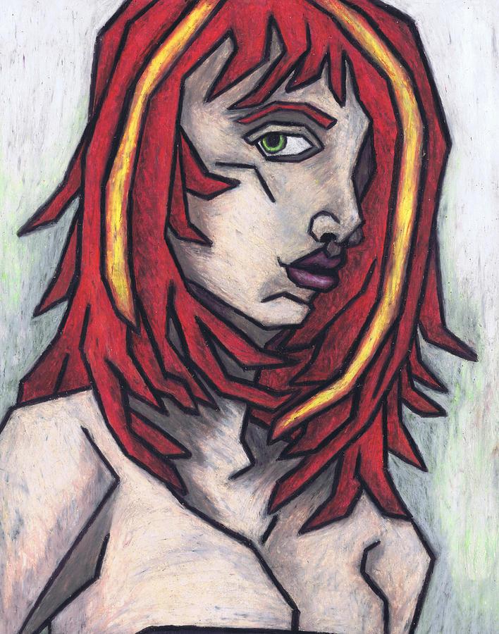 Haggard Painting - Haggard by Kamil Swiatek