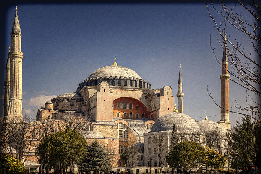 Hagia Sophia Photograph - Hagia Sophia by Joan Carroll