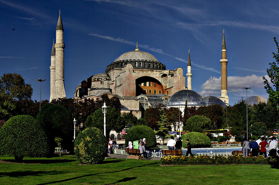 Hagia Sophia Museum In Istanbul Turkey Photograph by Ahmet ...
