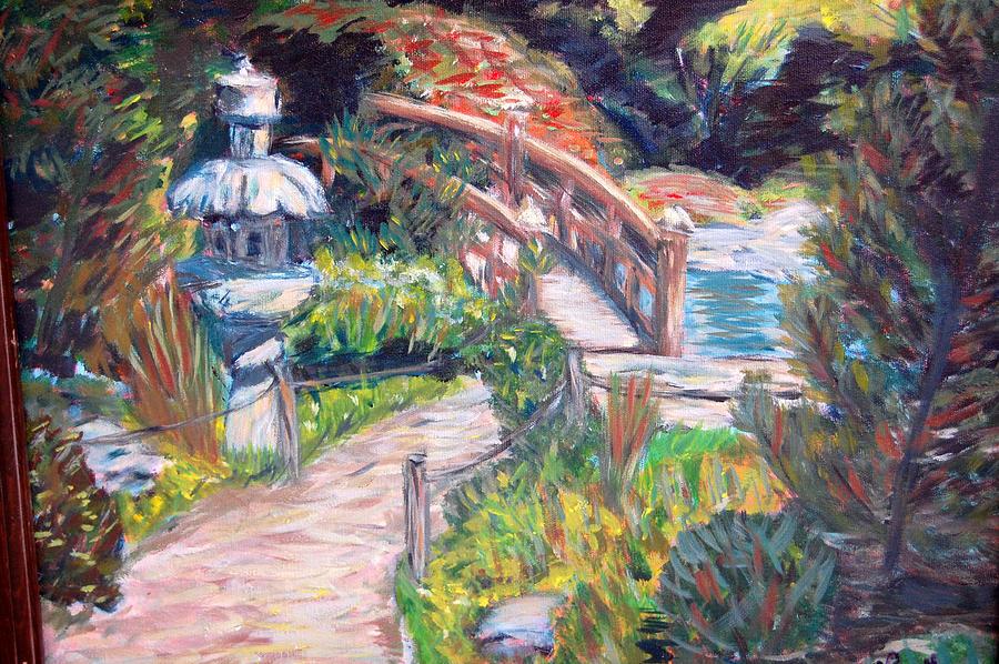 Hakone Garden Painting - Hakone by Carolyn Donnell