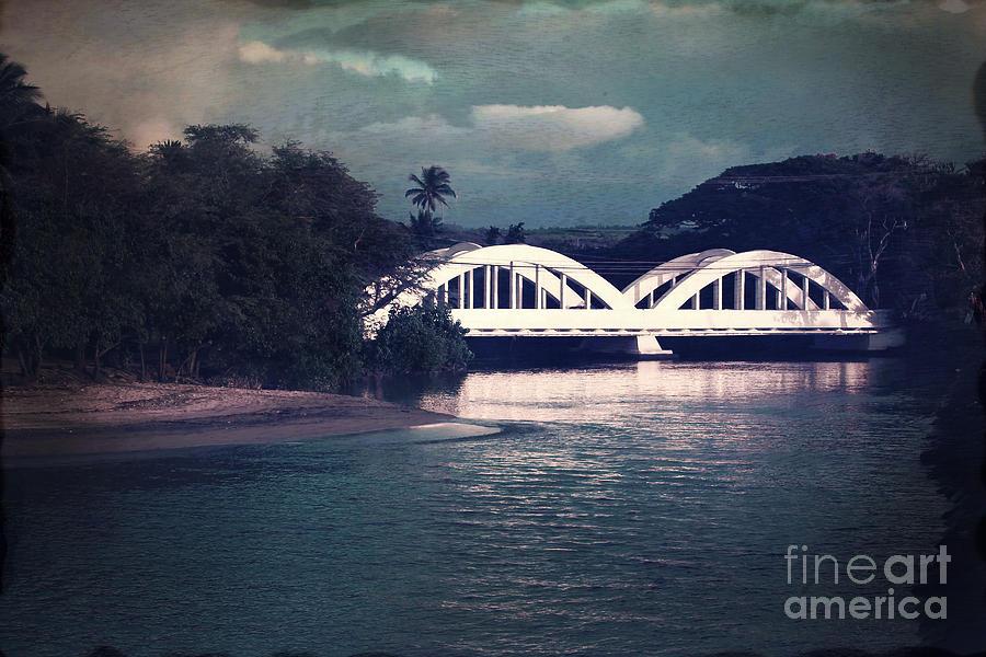 Haleiwa Bridge Photograph