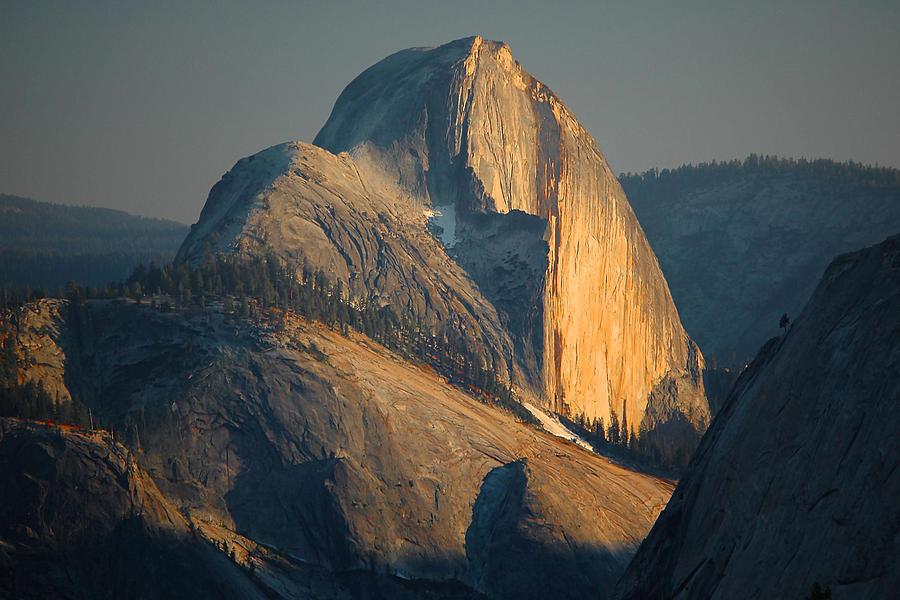 Yosemite Photograph - Half Dome At Sunset - Yosemite by Stephen  Vecchiotti