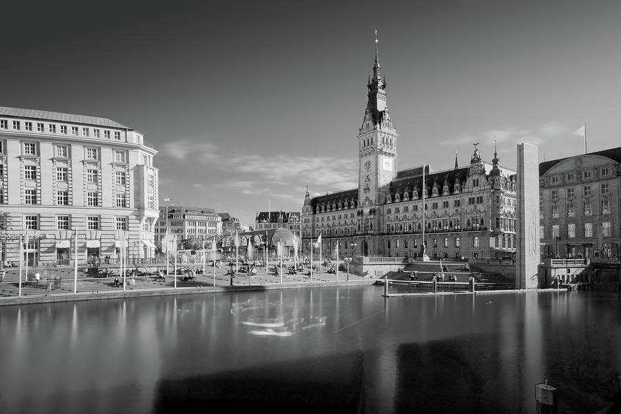 Hamburg Photograph - Hamburg - Binnenalster by Marc Huebner