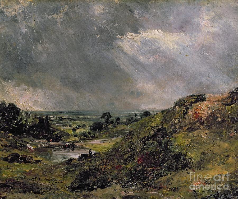 Hampstead Painting - Hampstead Heath by John Constable