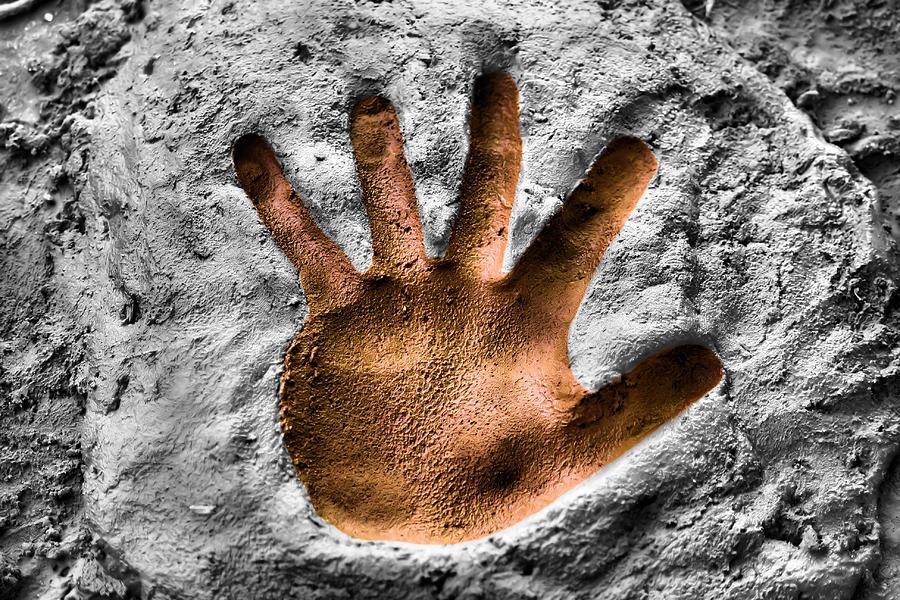 Hand Photograph - Hands Down by Karen M Scovill