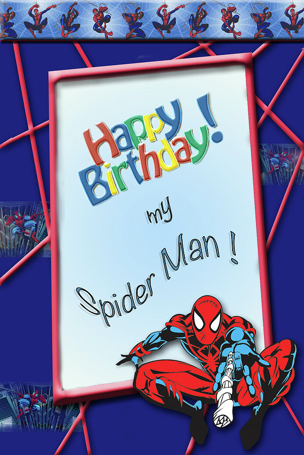 Happy Birthday Meme Spiderman Animalcarecollegeinfo