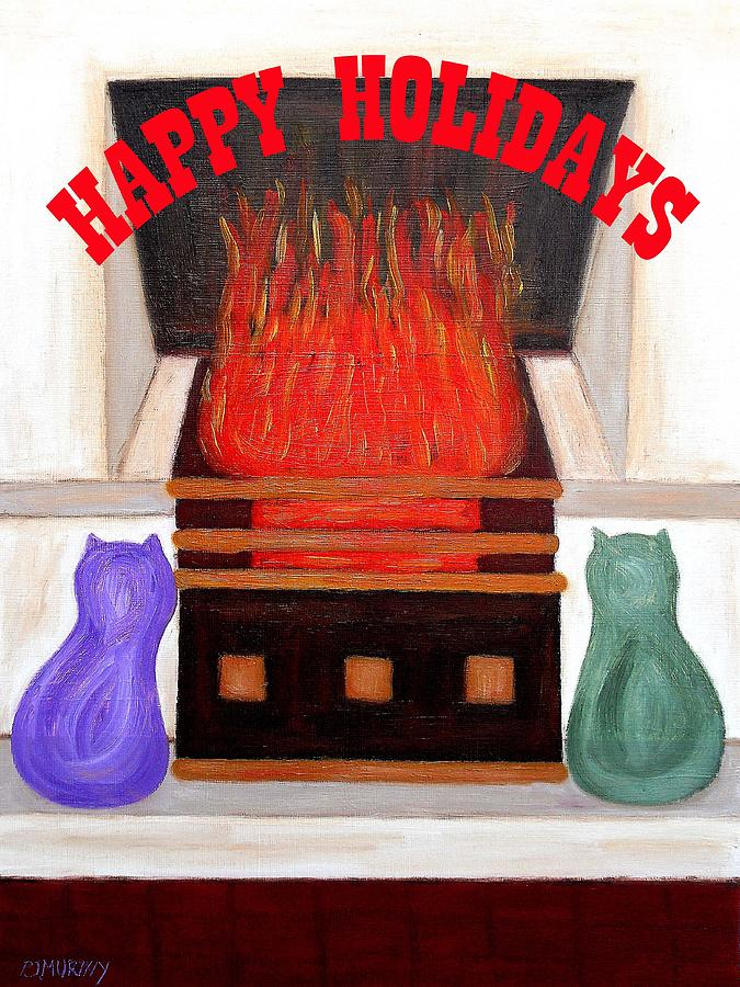 Home Painting - Happy Holidays 14 by Patrick J Murphy
