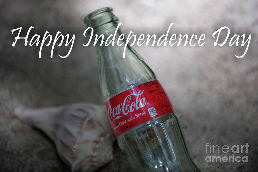 Happy Independence Day Photograph