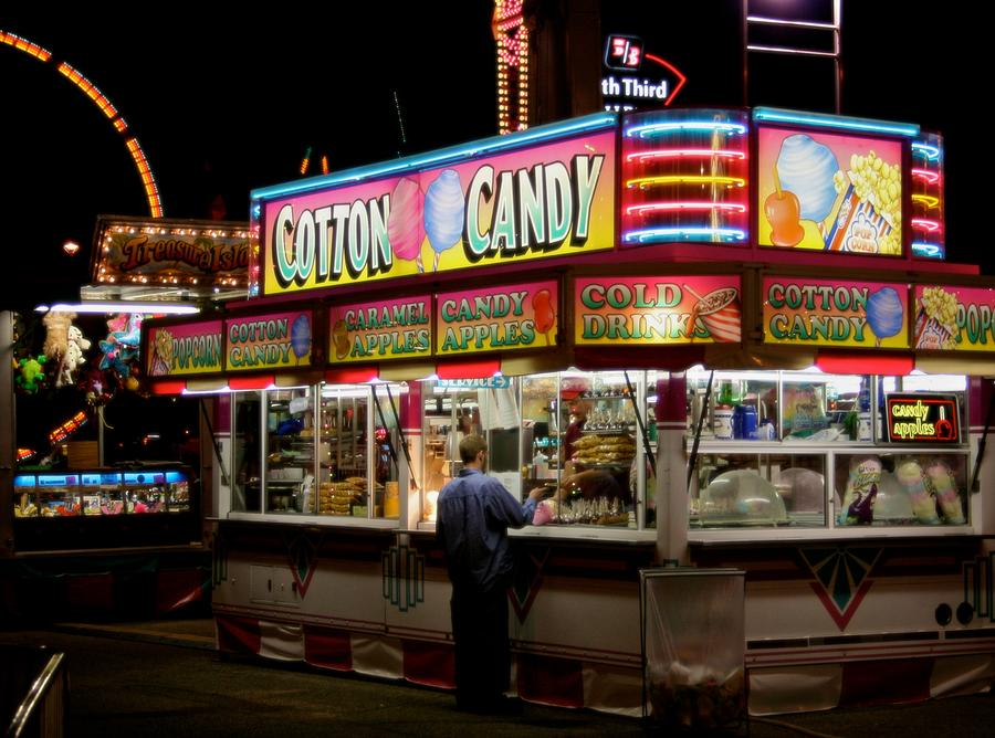 Fair Photograph - Happy Meals by Odd Jeppesen