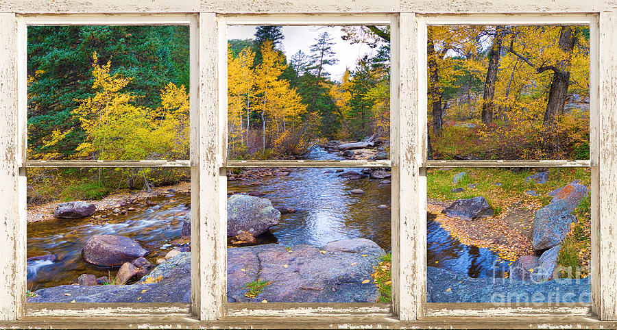 Happy Place Picture Window Frame Photo Fine Art Photograph