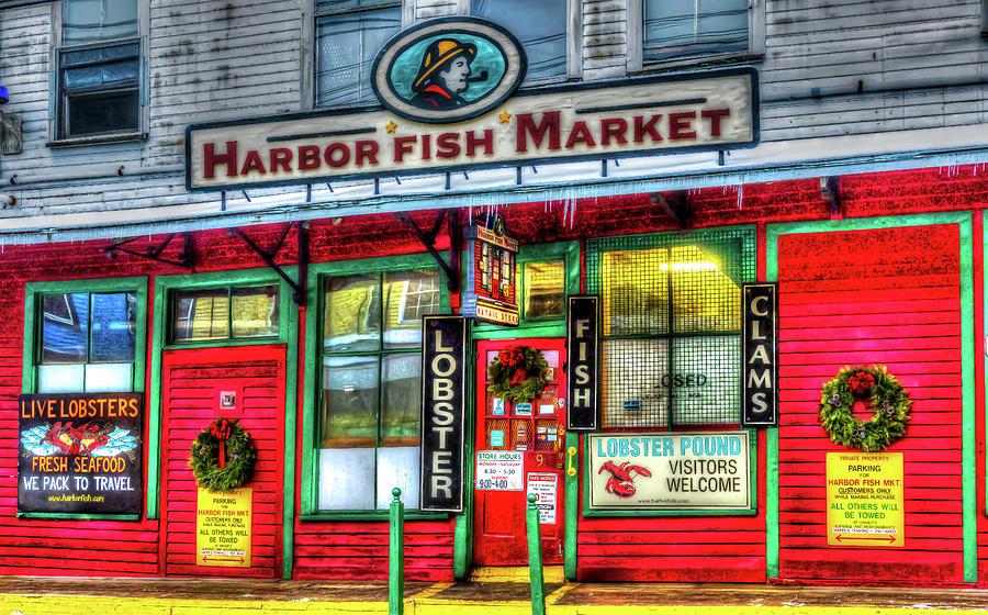 Harbor fish market art photograph by stan dzugan for Fish market portland maine