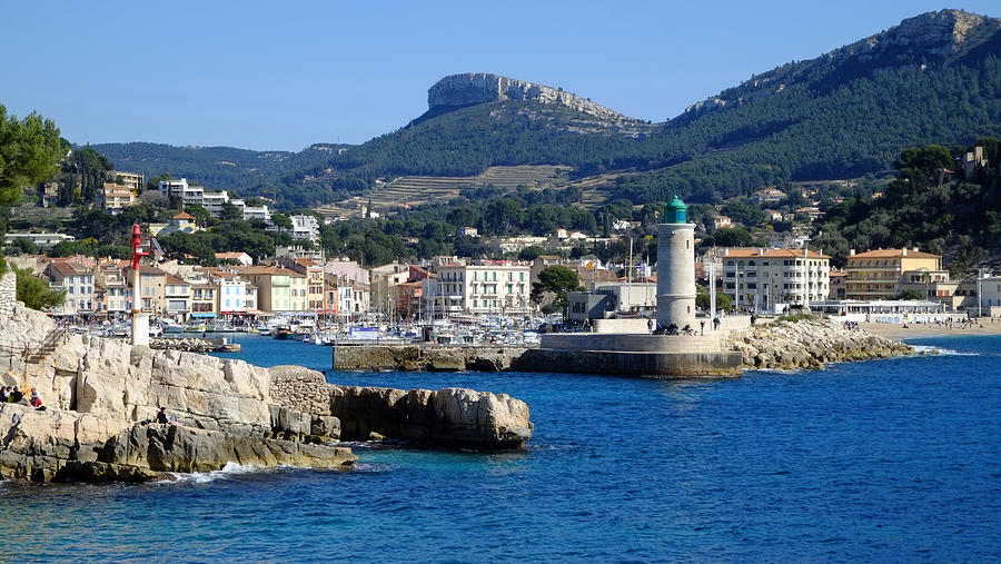 Harbor Of Cassis Photograph