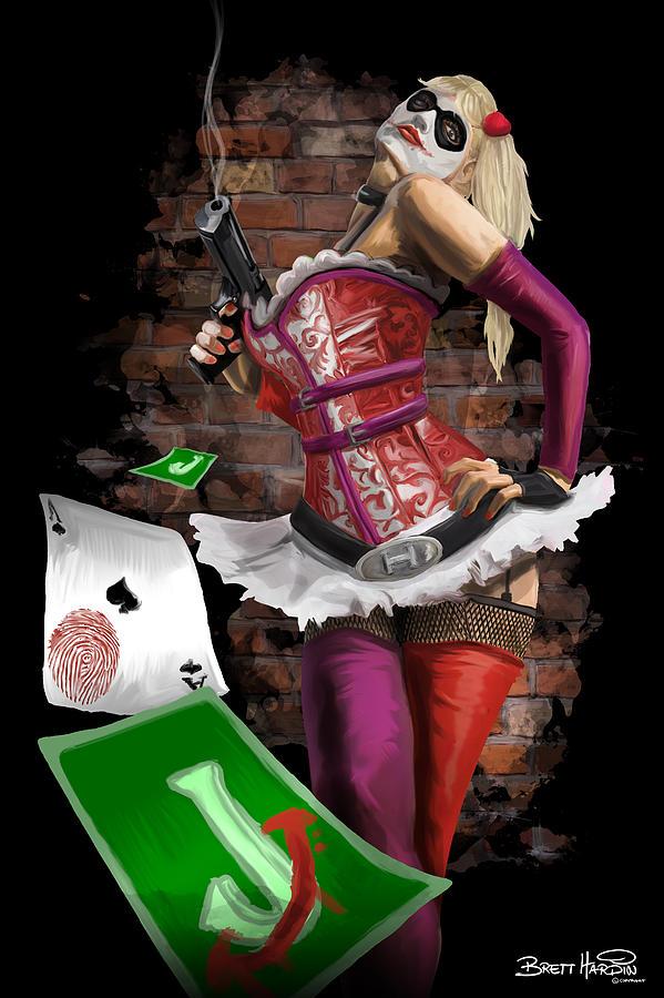 Harley Quinn Painting