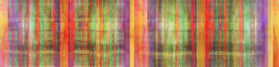 Modern Painting - Harmony Stripes by Ab Stract