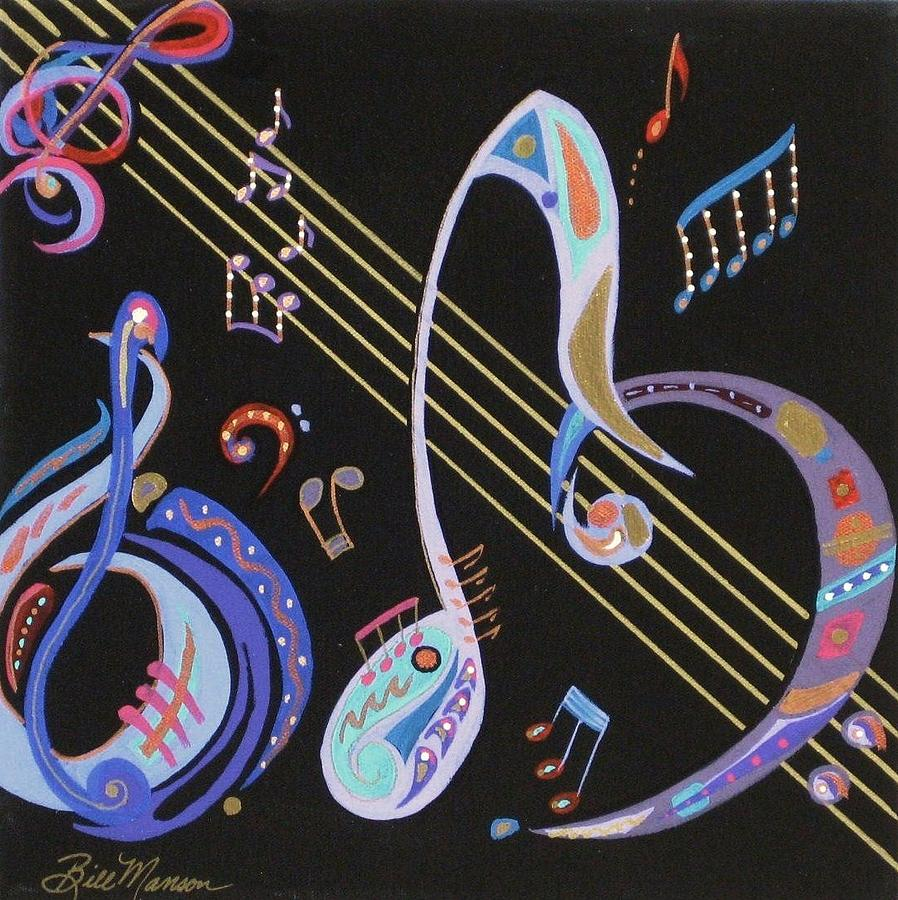 Paintings Painting - Harmony V by Bill Manson