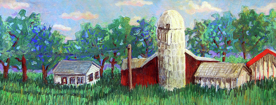 Farm Painting - Harry And Thelmas Place by Jame Hayes