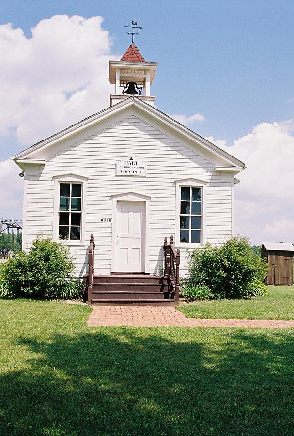 Hart One Room School House Photograph By Cheryl Vatcher Martin