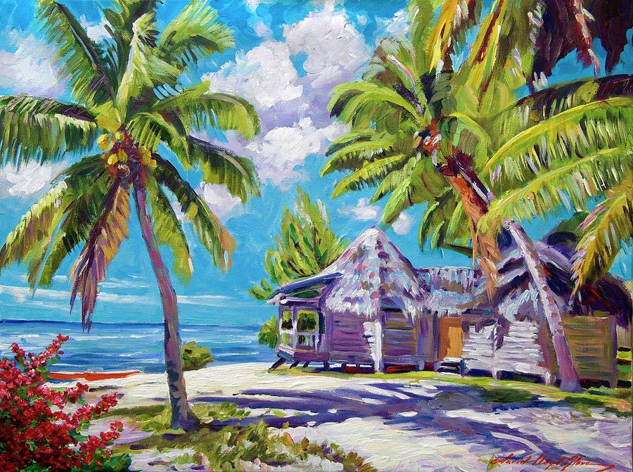 Hawaii Beach Shack Painting