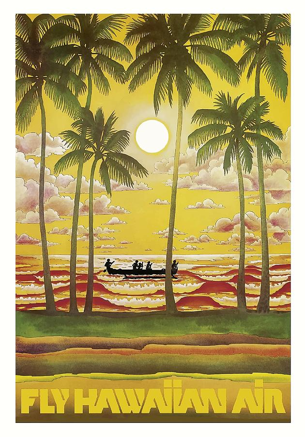 Vintage Hawaii Travel Poster 92
