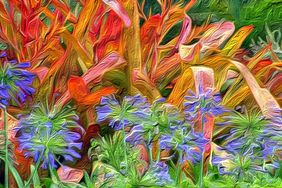 Tropical Flowers Painting - Hawaiian Flowers by Paige Harre