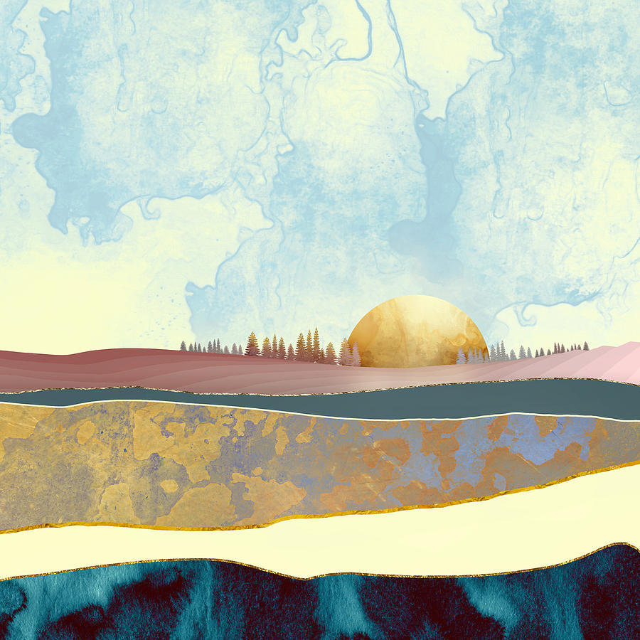 Hazy Afternoon Digital Art