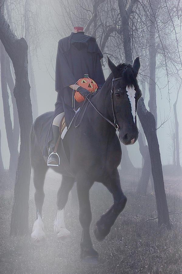 Headless Horseman Photograph