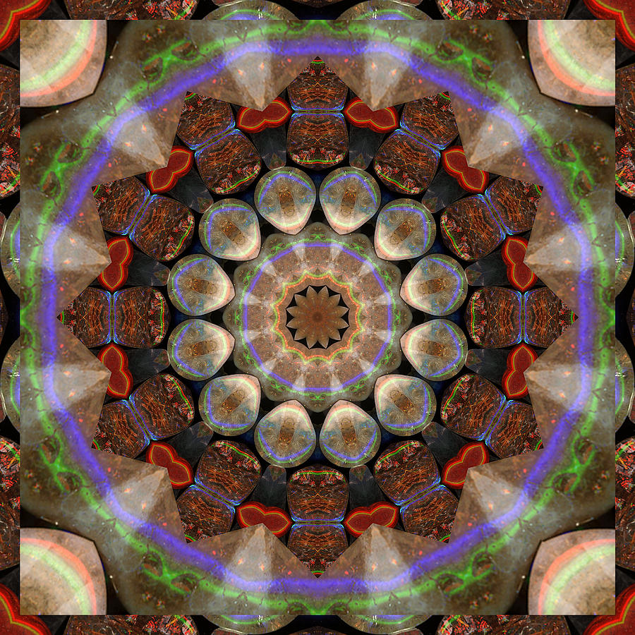 Prosperity Art Photograph - Healing Mandala 30 by Bell And Todd