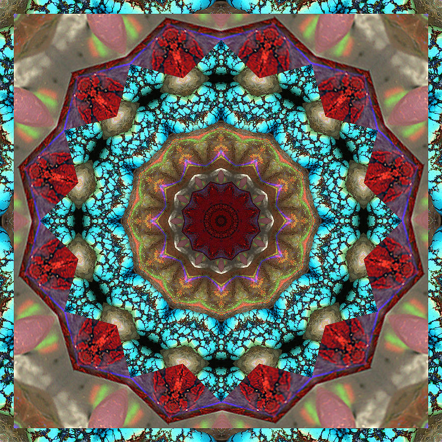 Prosperity Art Photograph - Healing Mandala 35 by Bell And Todd