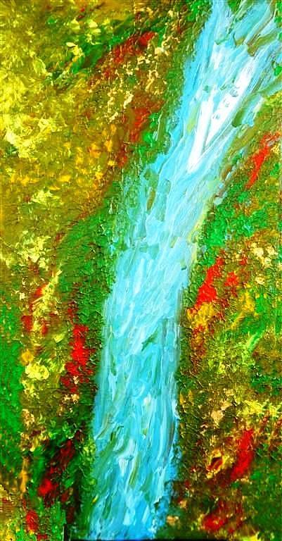 Healing Waters Painting
