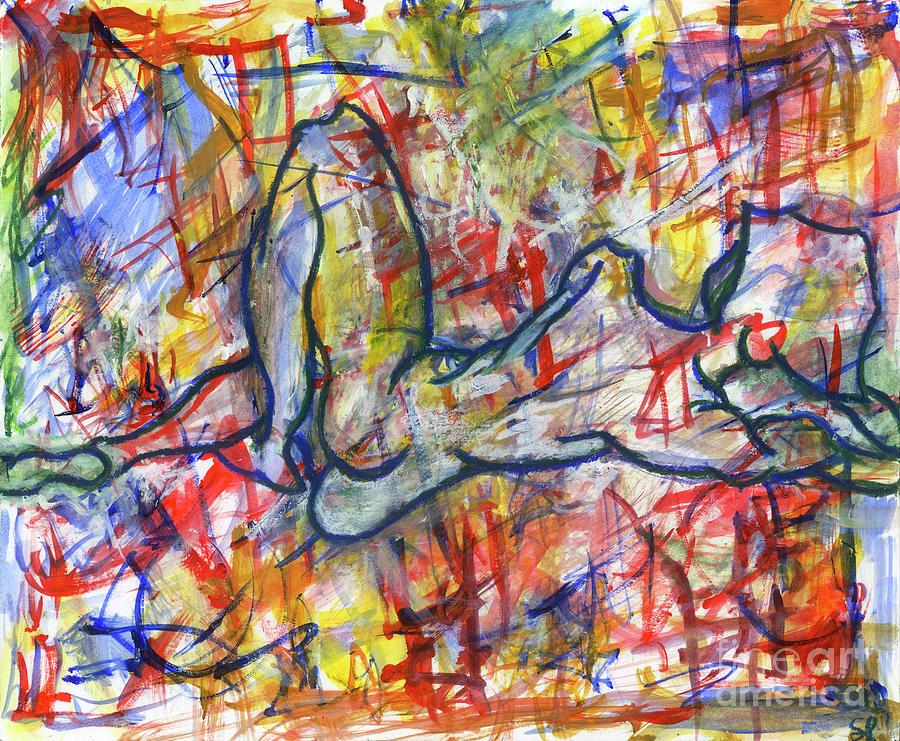 Pastels Mixed Media - Heartsong by Samir Patel