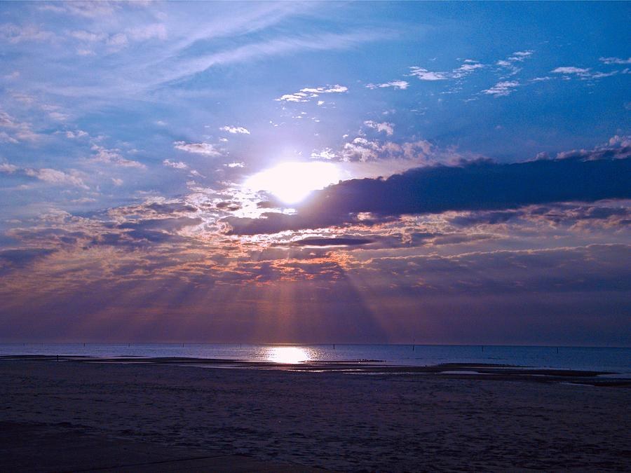 Sunrise Photograph - Heavenly Skies by Brian Wright