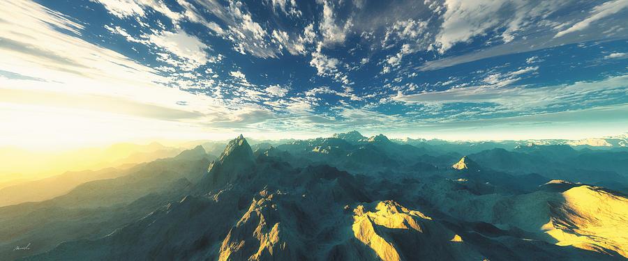 Heavens Breath 16 Digital Art