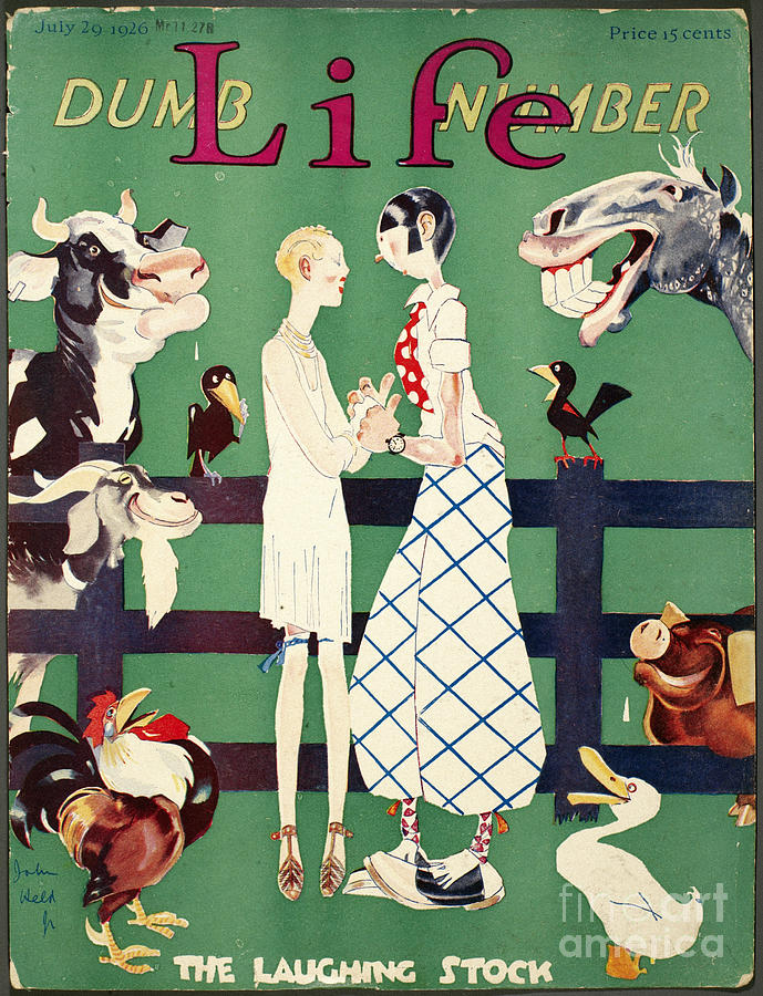 Held: Magazine Cover, 1926 Photograph