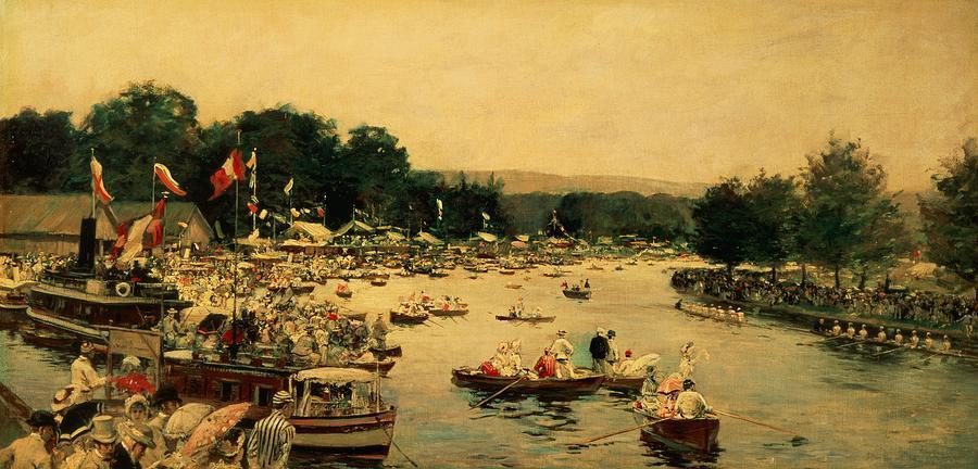 Henley Regatta Painting - Henley Regatta by James Jacques Joseph Tissot
