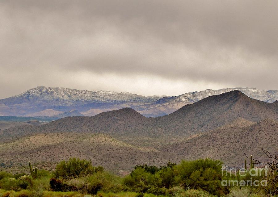 Arizona Landscape Photograph - Here Comes The Sun by Marilyn Smith