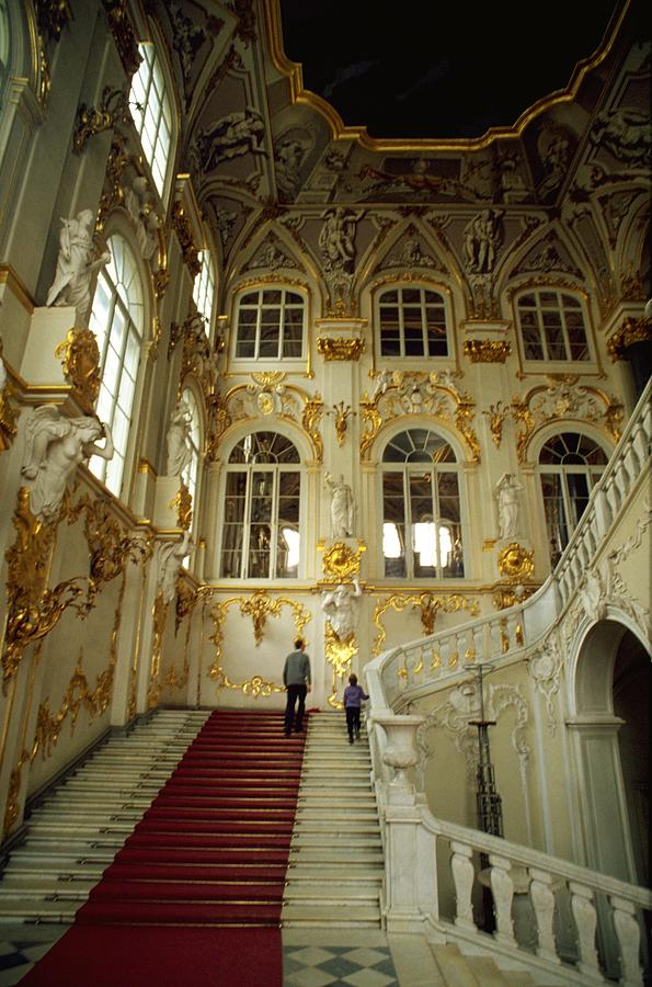 Hermitage Staircase Photograph