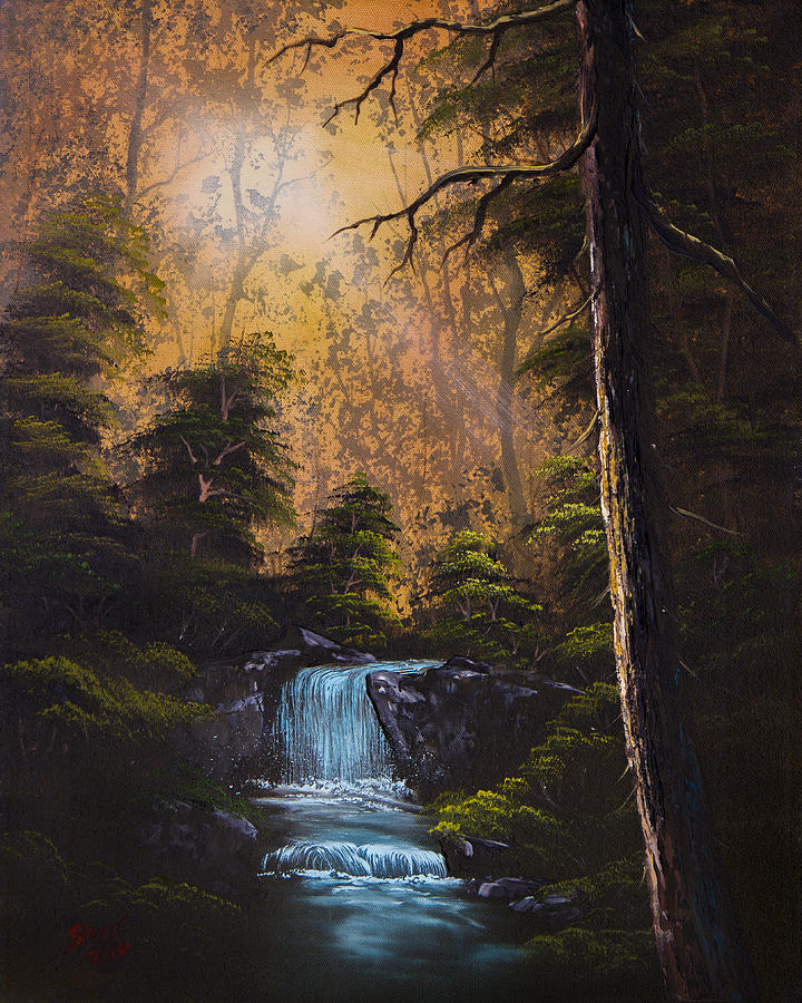 Hidden Brook Painting