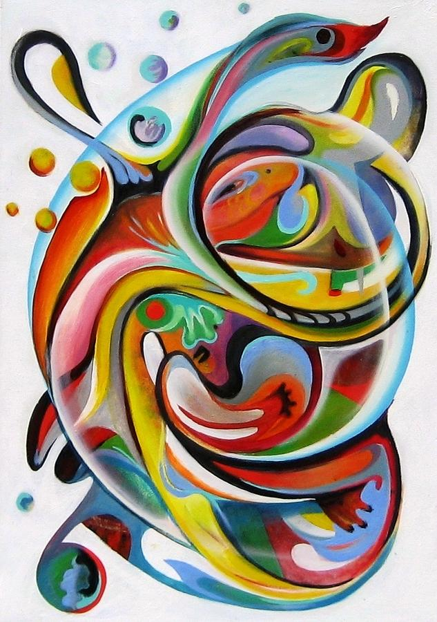Hidden Gecko Painting - Hidden Gecko by Ky Wilms