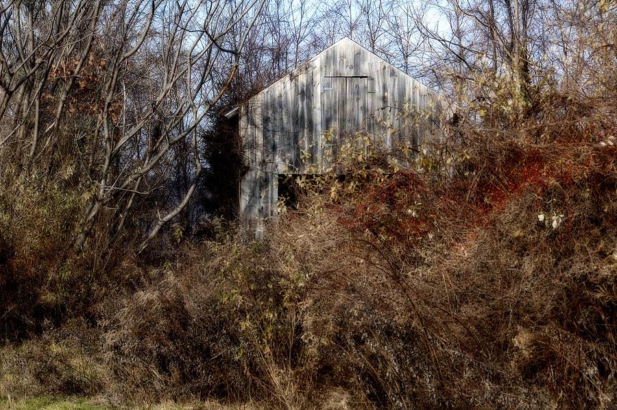 Barn Photograph - Hide A Barn by Ross Powell