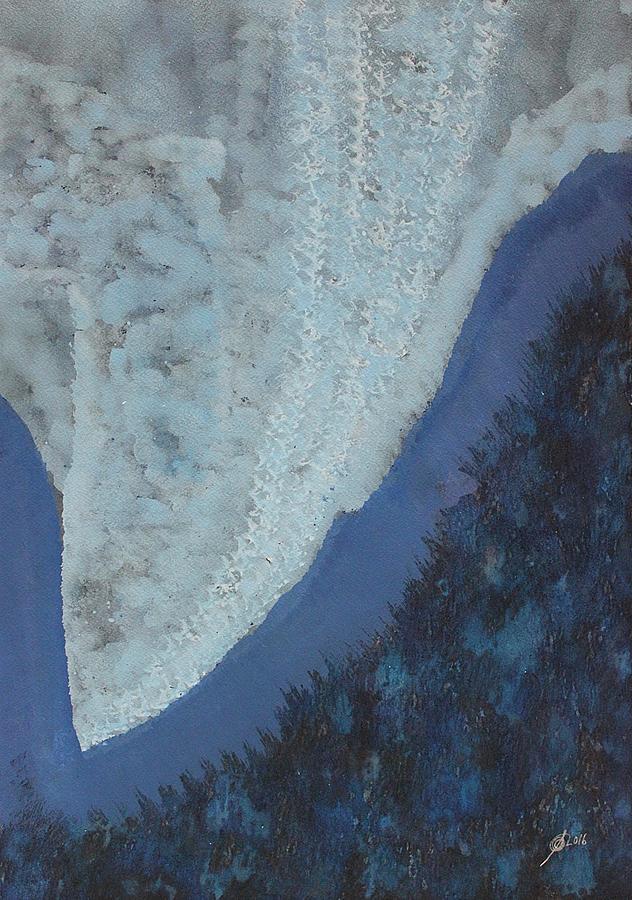 High Rockies Original Painting Painting