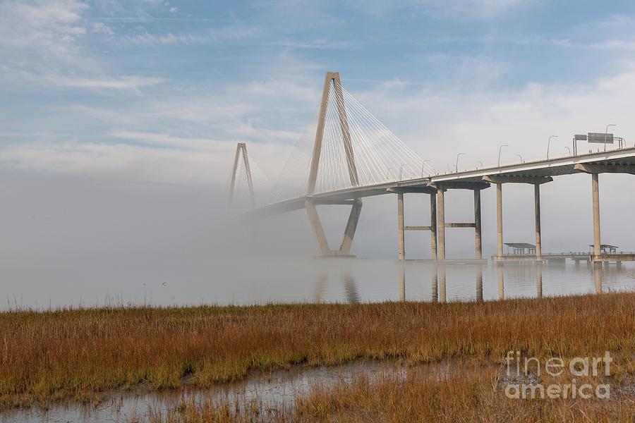 Highway Fog Photograph