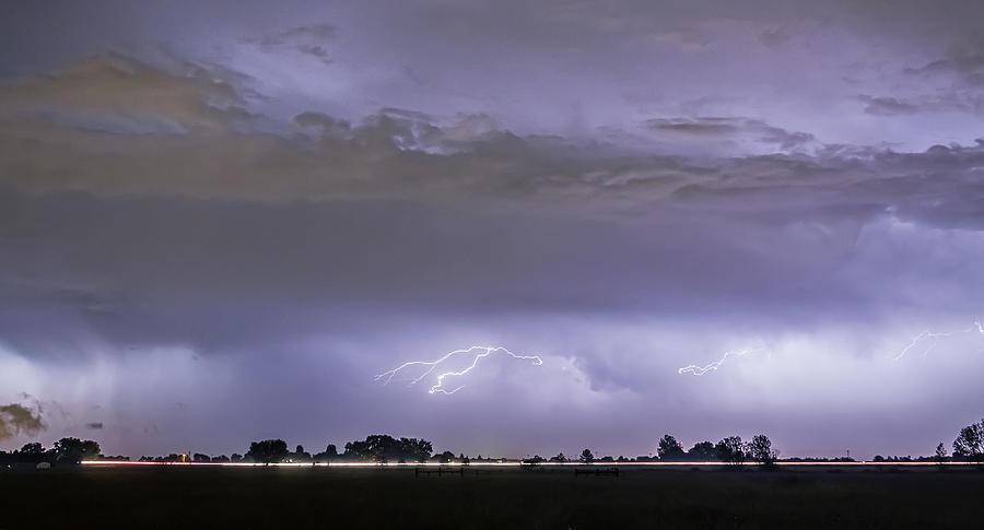 Highway Storm Photograph