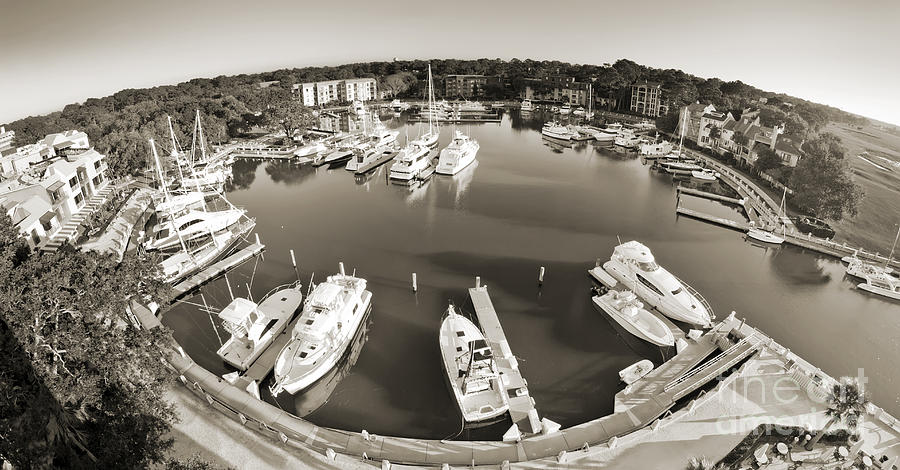 Hilton Head Harbor Town Yacht Basin 2012 Photograph