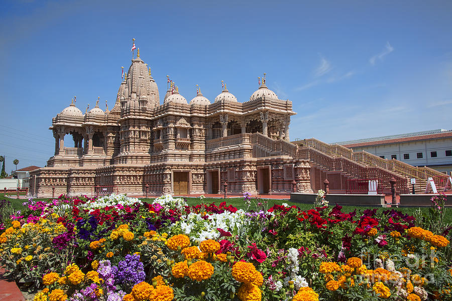 Hindu Place Of Worship Photograph by Chuck Kuhn