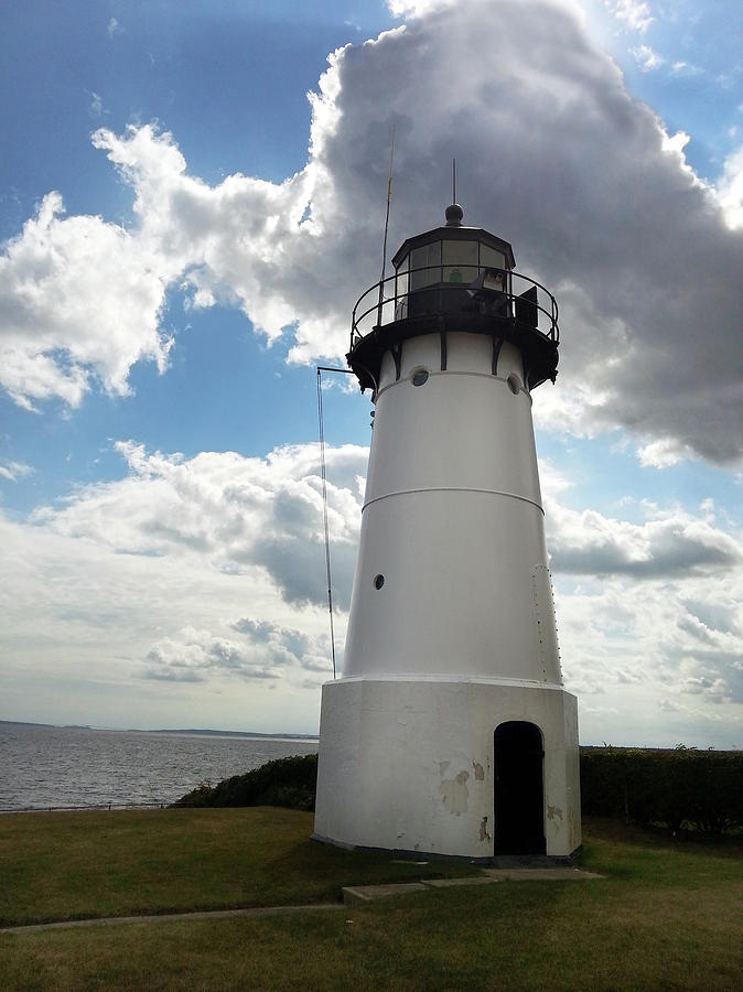 Historic Lighthouse At Warwick Neck 002 Photograph