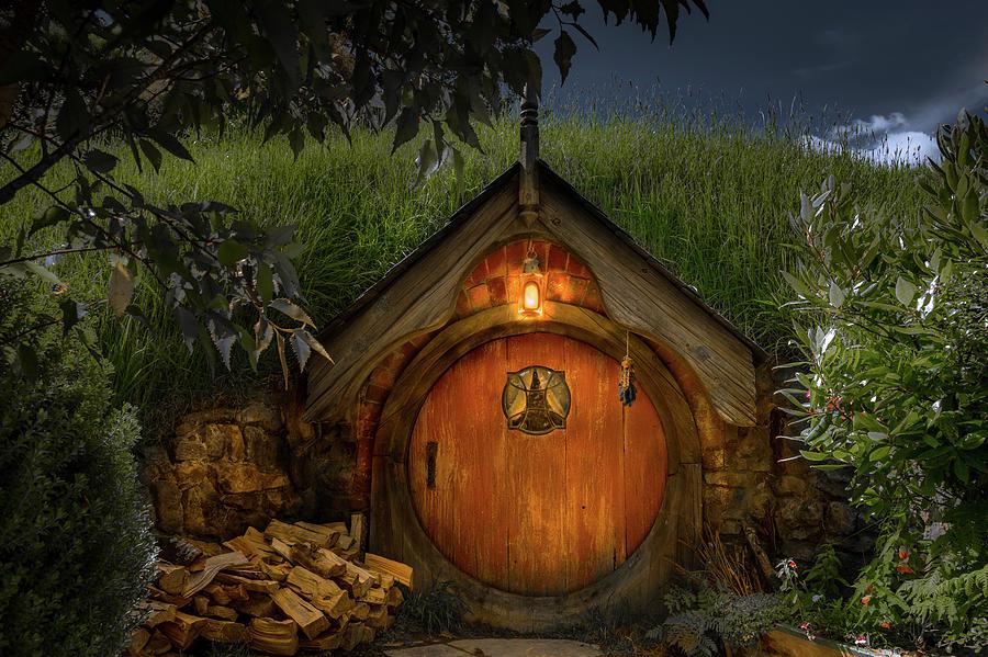 Hobbit Dwelling Photograph