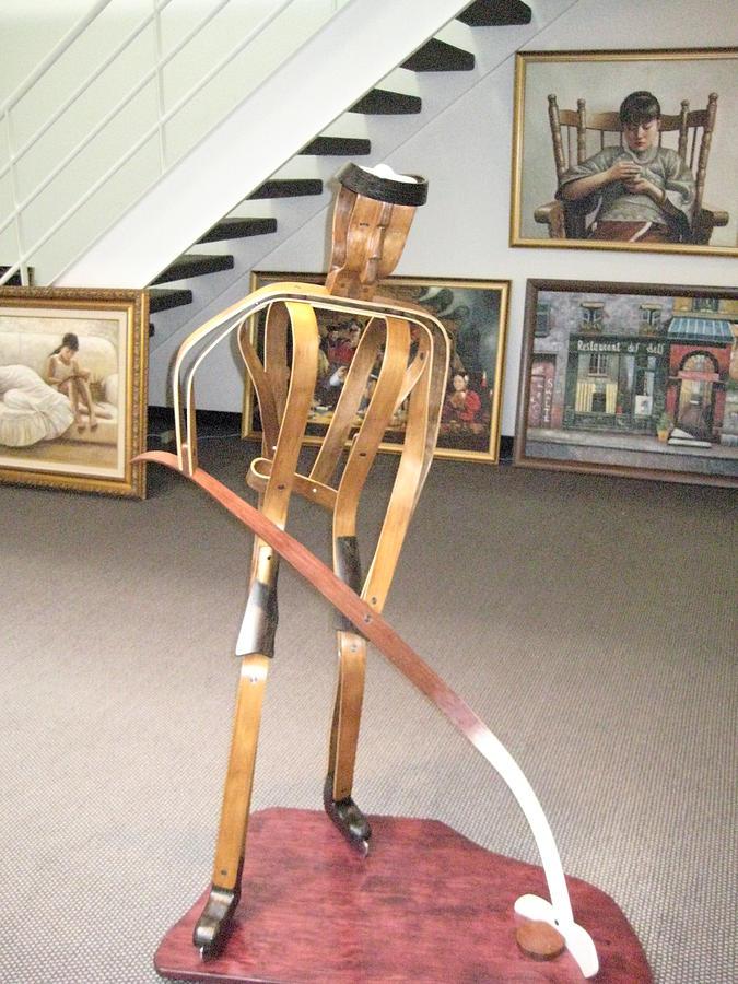 Sculpture Sculpture - Hockey Man by Marko Martinez